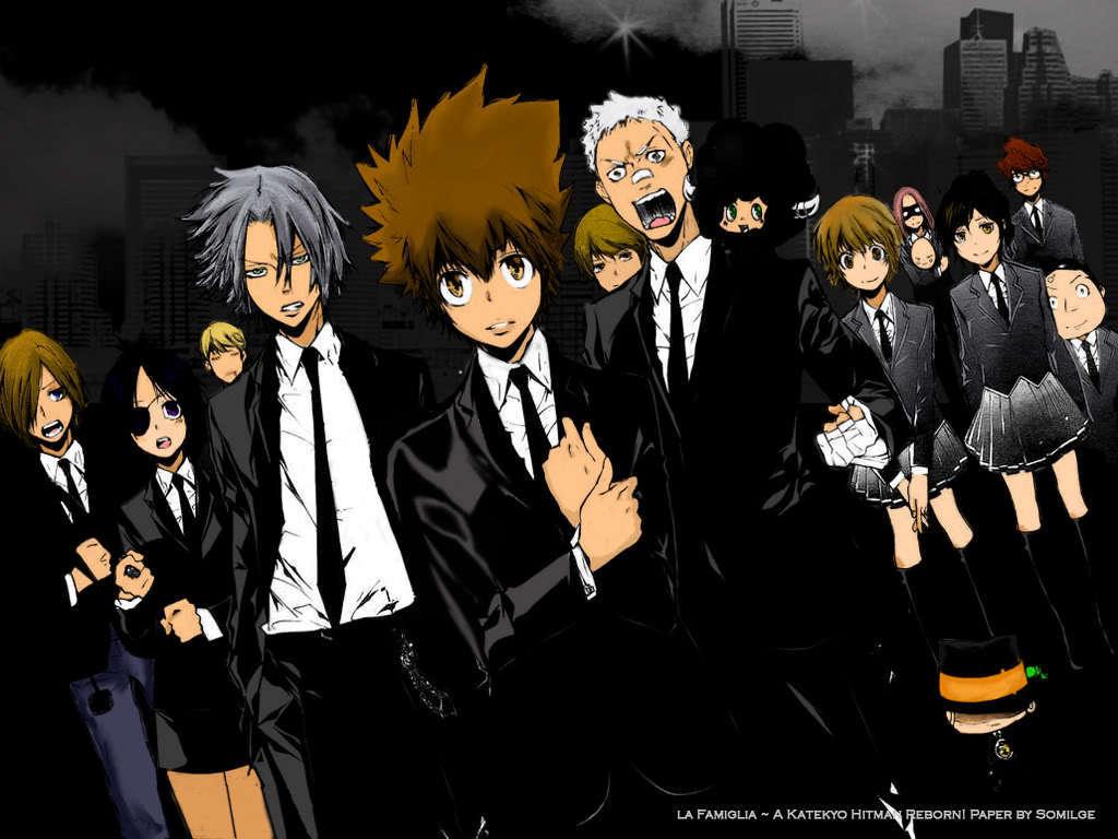 Katekyo Hitman Reborn Anime Series Collection 1024x768