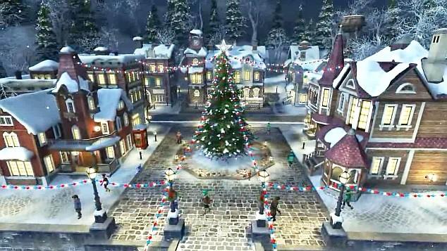 Live Christmas Wallpaper Animated Christmas Wallpapers 634x357