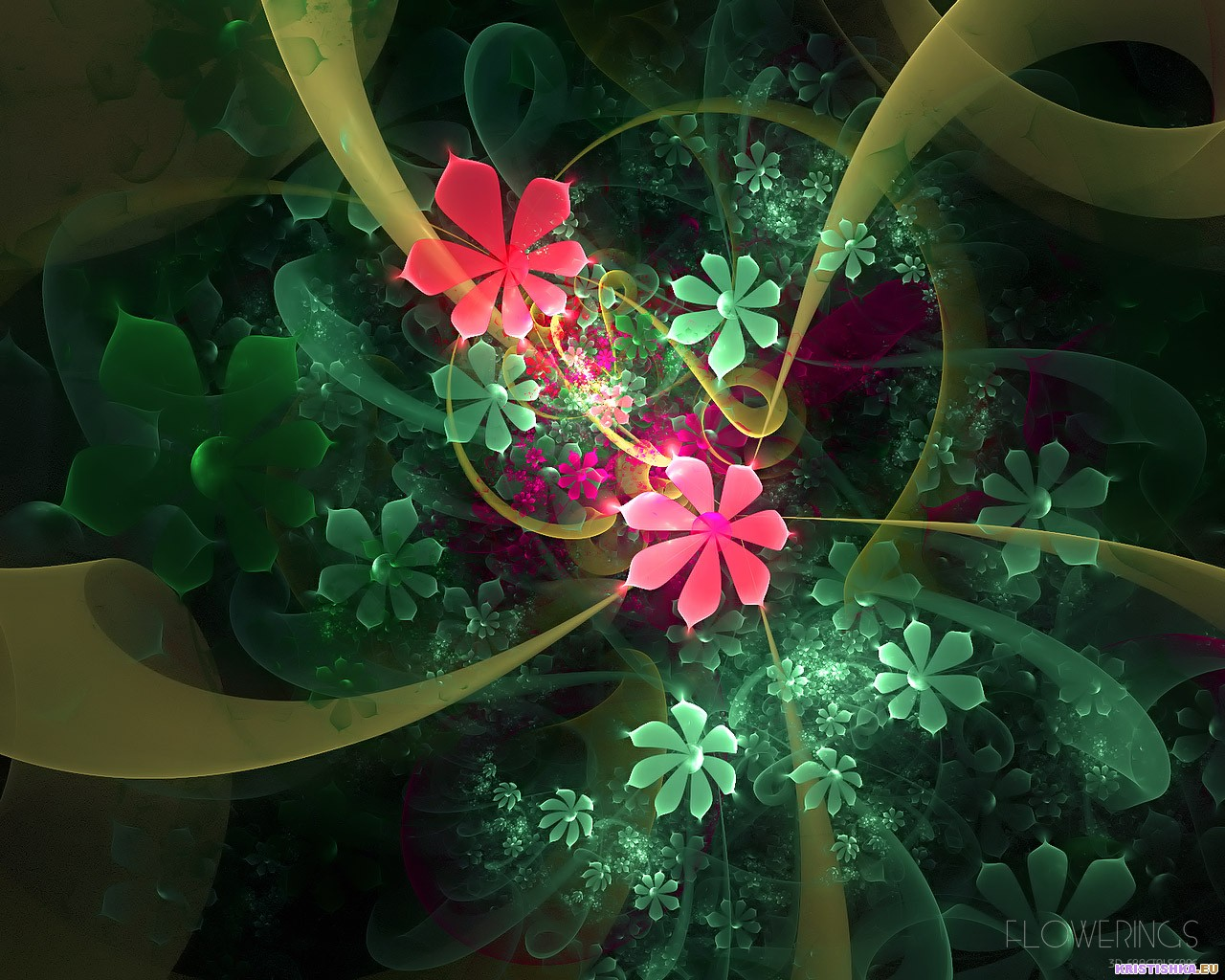 Kinds Of Wallpapers 3D Flower Wallpapers 1280x1024