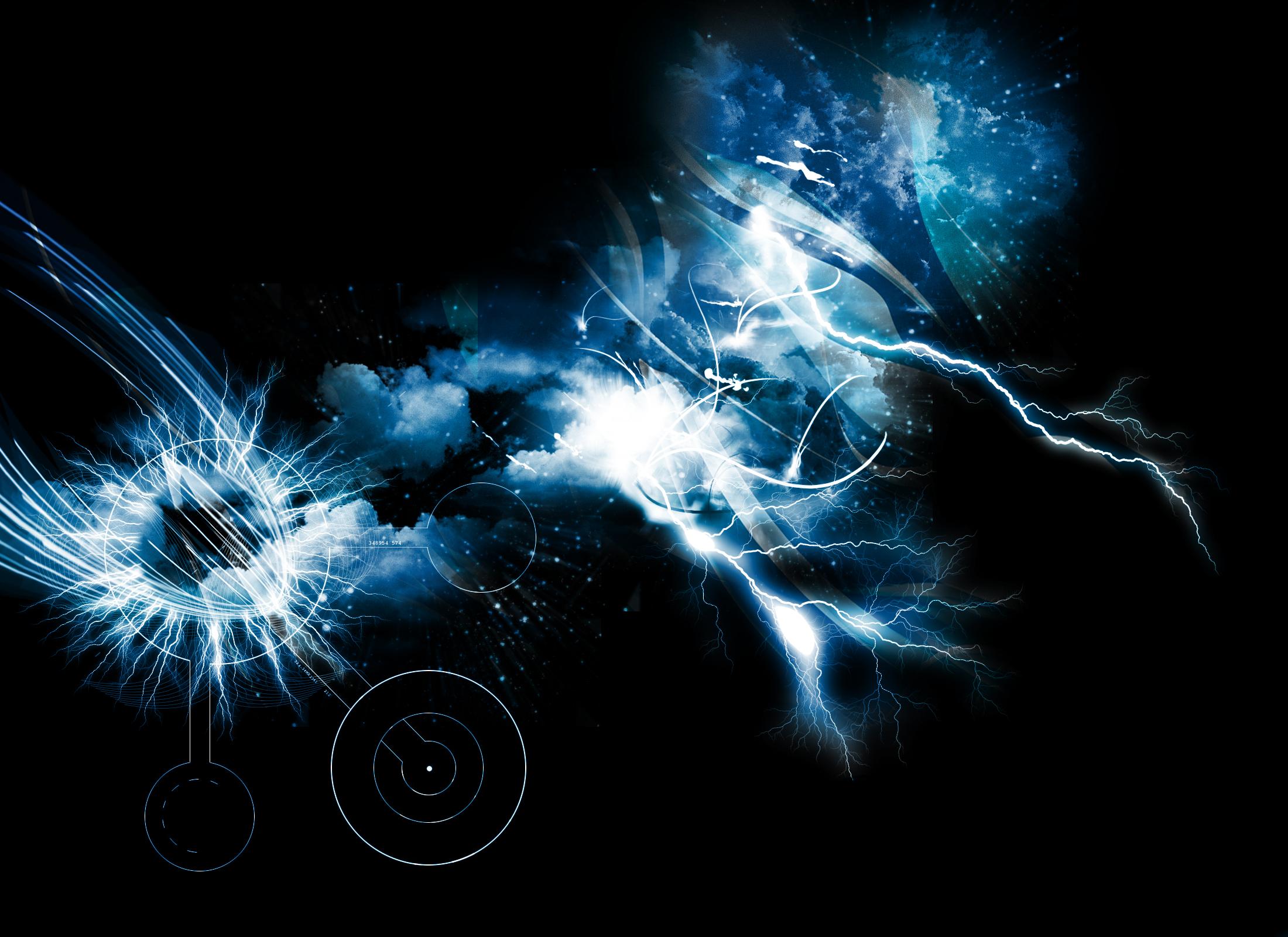thunder wallpaper