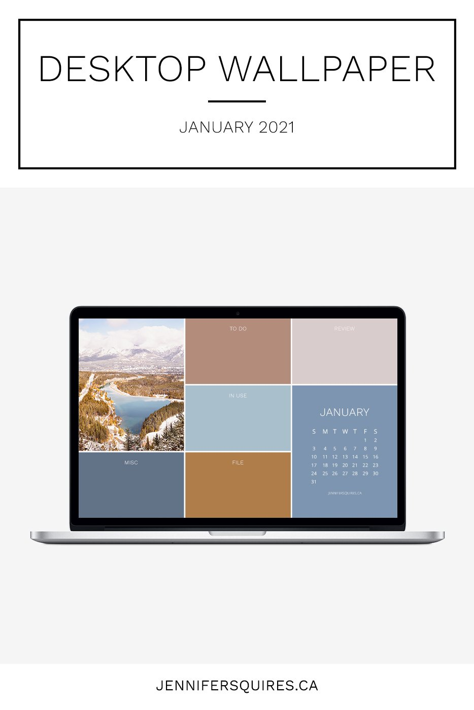 January 2021 Wallpaper with Calendar for iPhone and Desktop 934x1400