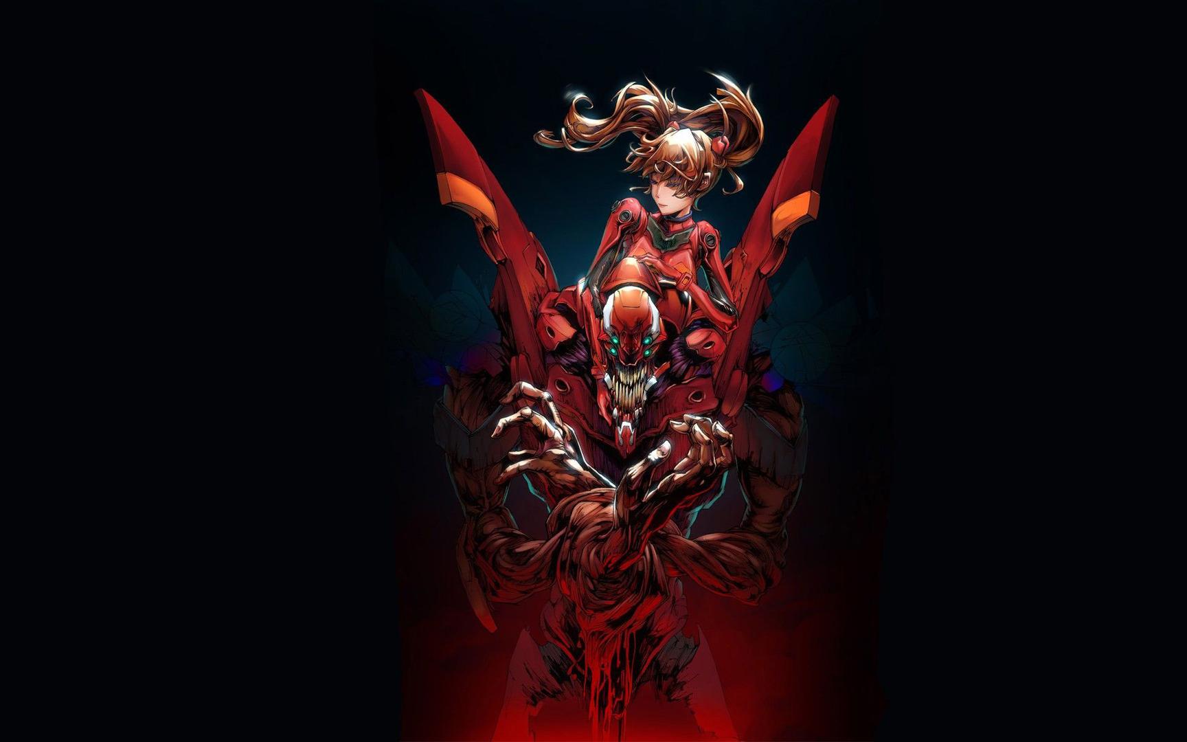 Download Neon Genesis Evangelion wallpaper 1728x1080
