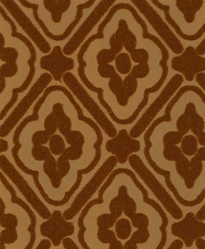 Illustration Turner and Sons Flock diaper wallpaper pattern 1849 656x796