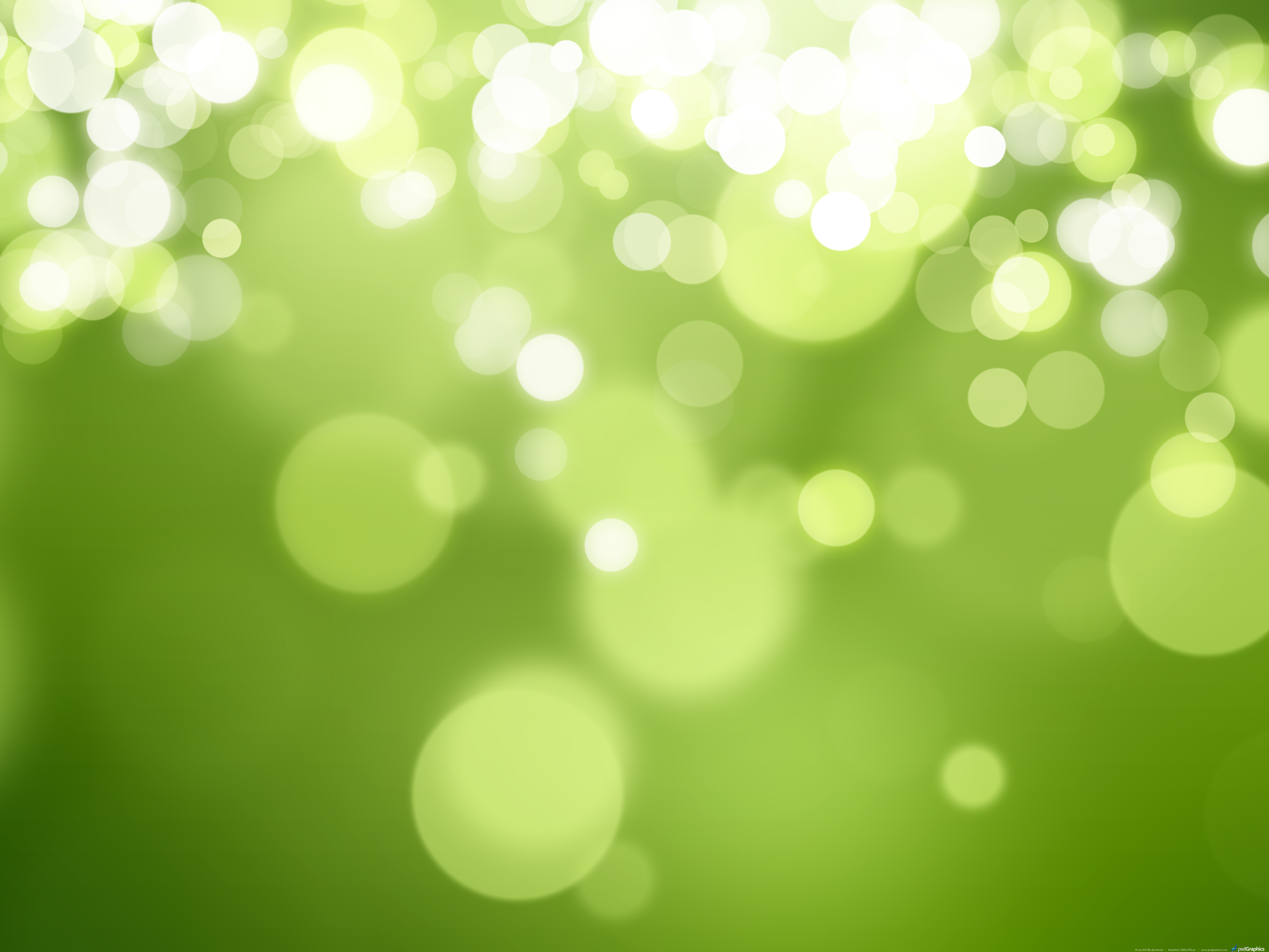 Abstract green nature background PSDGraphics 5000x3750