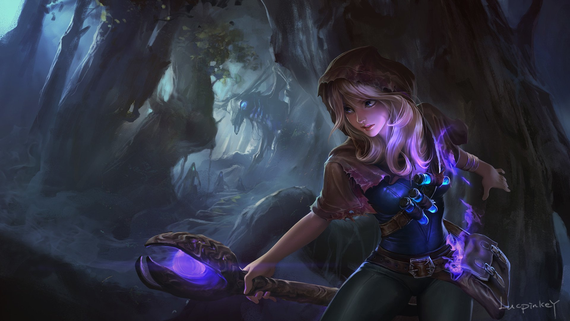 86 Lux League Of Legends HD Wallpapers Background Images 1920x1080