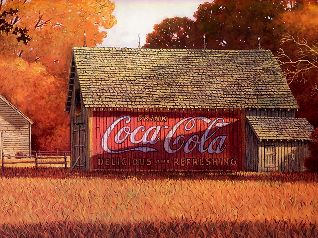 Coca cola wallpaper border vintage wallpapersafari - Vintage coke wallpaper ...