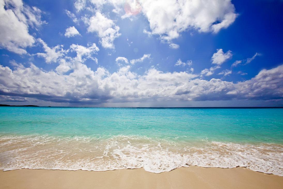 caribbean beach wallpaper HD by venomxbaby 1095x730