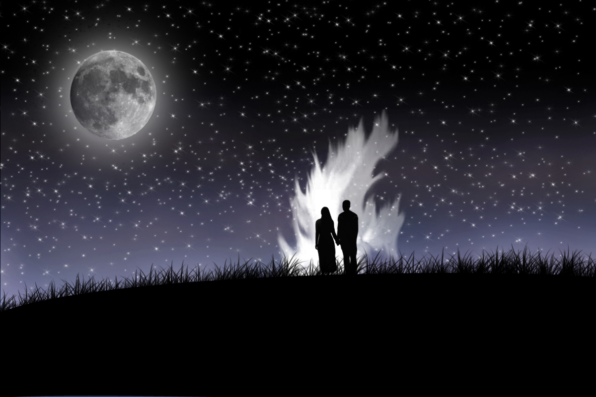 Free Download Lovers In Midnight Wallpapers Hd Wallpapers