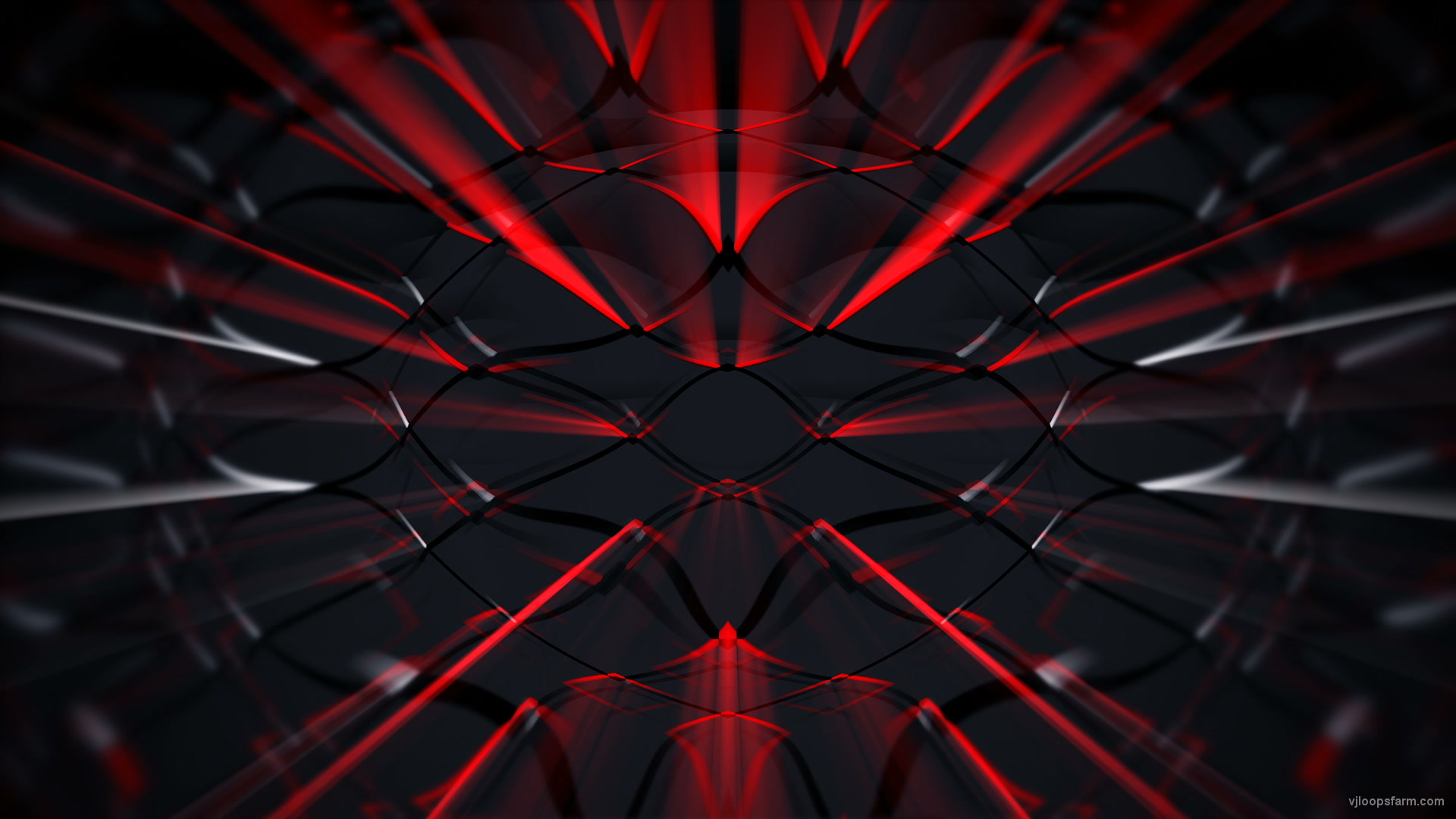 Red Strobing Abstract multicolored ethnic motion graphics 1920x1080