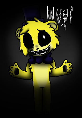 Chibi Golden Freddy by TheSilentMusicBox 312x450