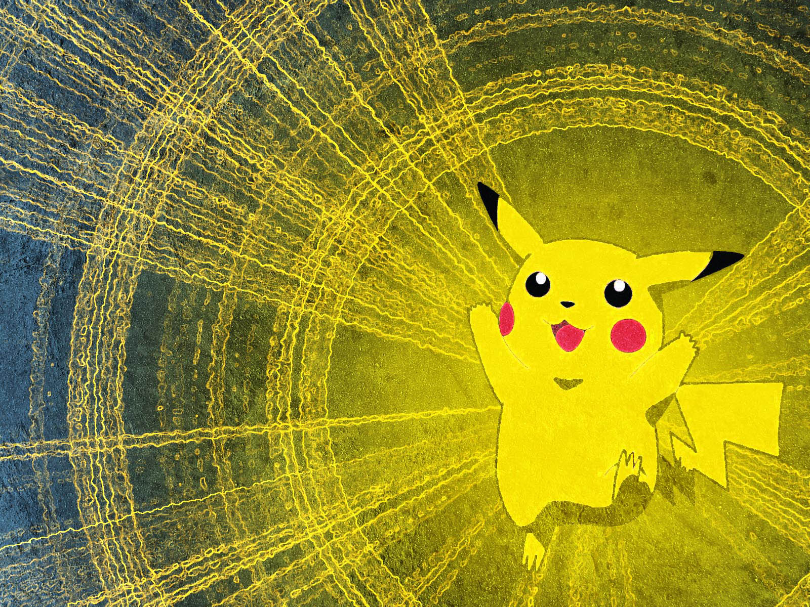 the Pikachu Pokemon Wallpapers Pikachu Pokemon Desktop Wallpapers 1600x1200