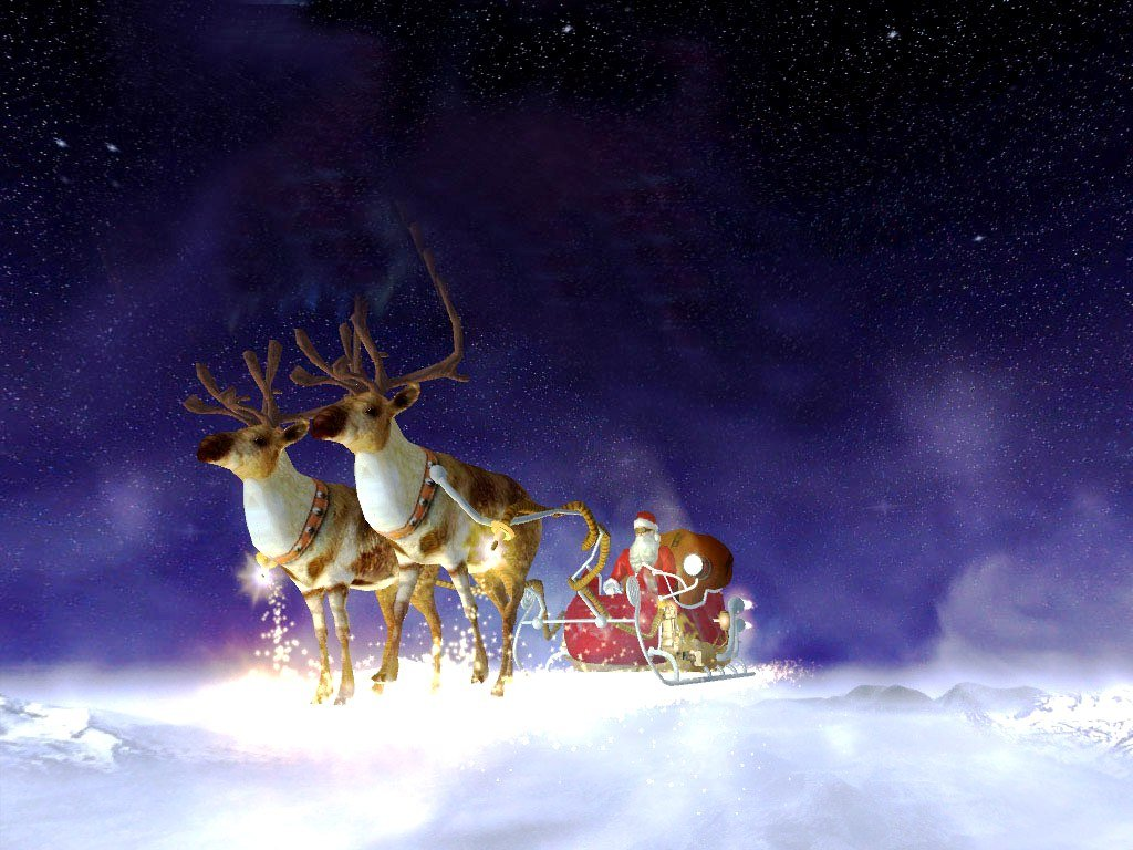 Animated Christmas Wallpaper Wallpapers9 1024x768