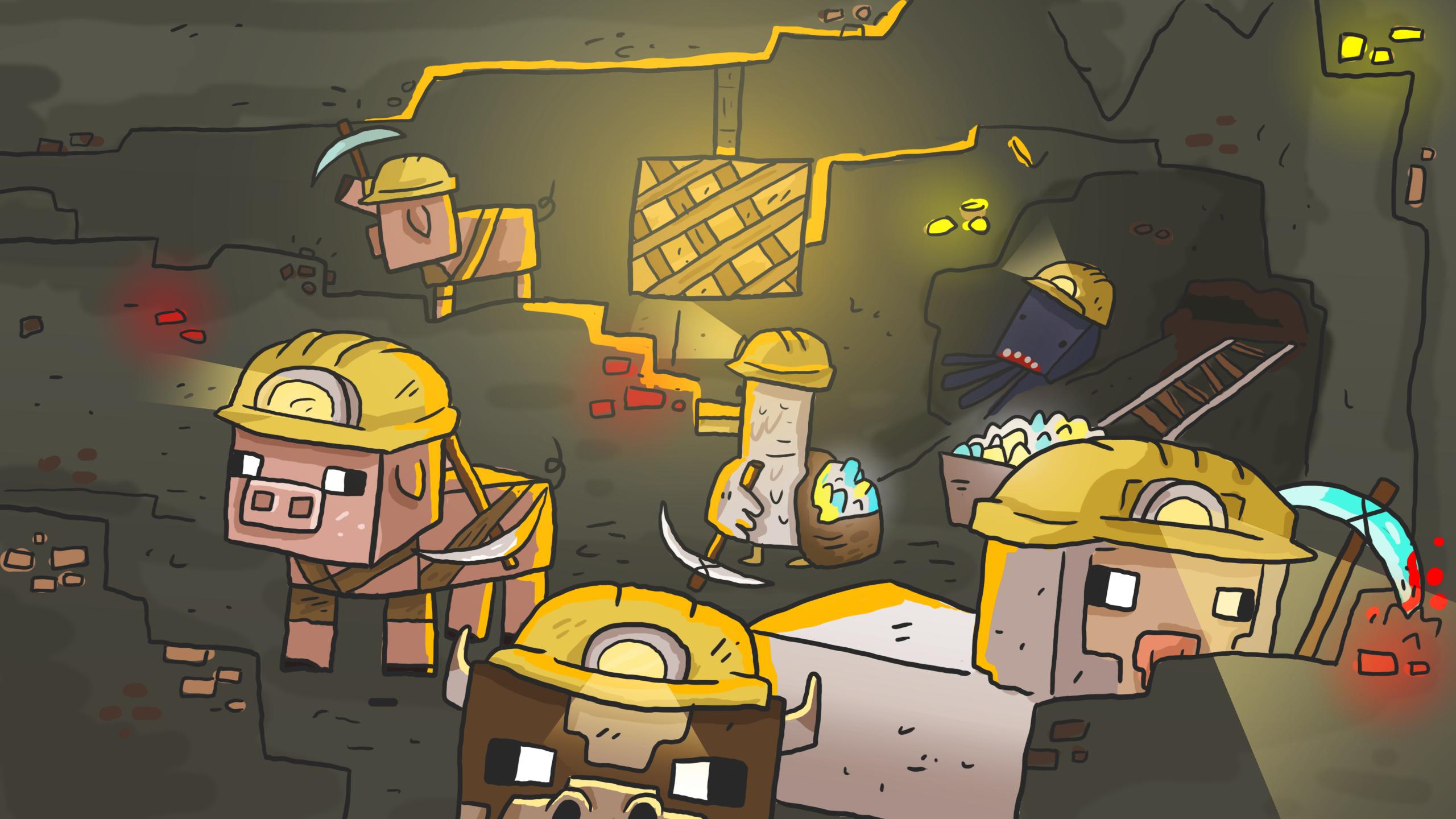 Top 10 Minecraft Wallpapers   MinecraftRocket 2560x1440