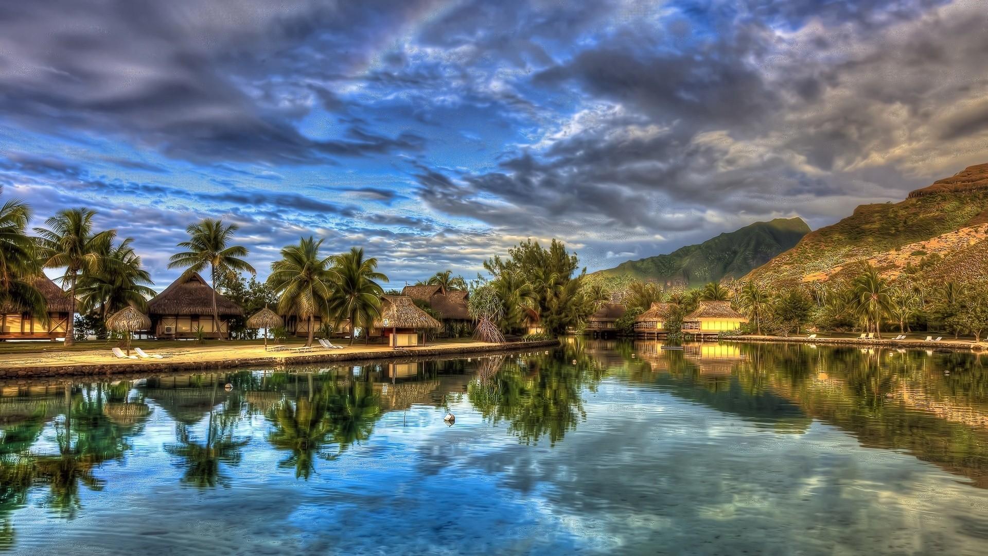 Landscape Hd Wallpapers 1080p: 1080P Tropical Landscape Wallpapers