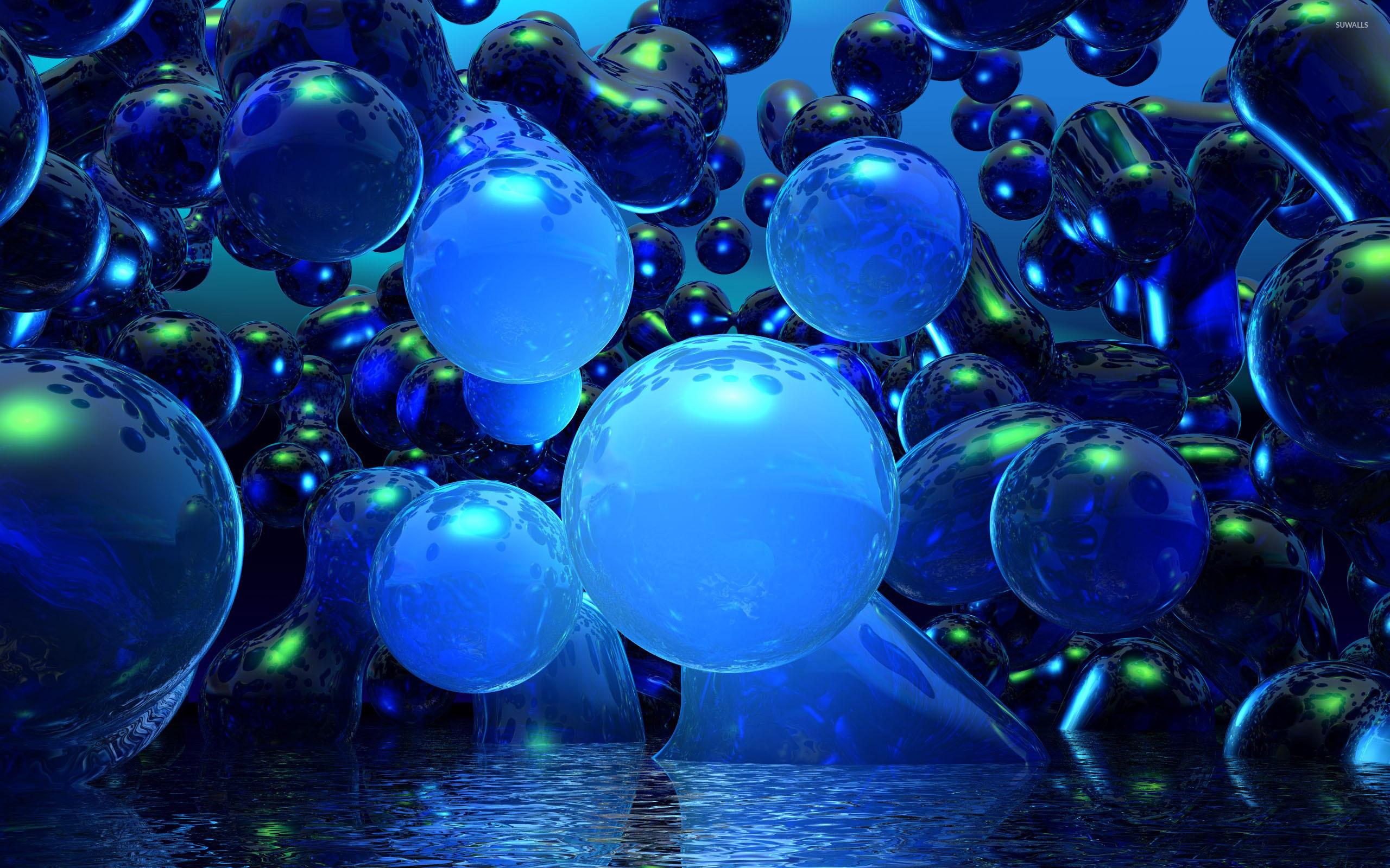 Bubbles wallpaper   3D wallpapers   11023 2560x1600