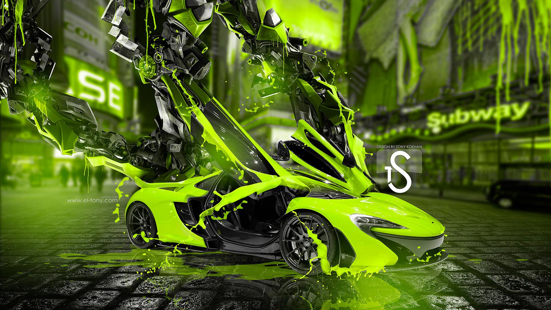 mclaren p1 fantasy super plastic transformer city car 2015 mclaren p1 1920x1080