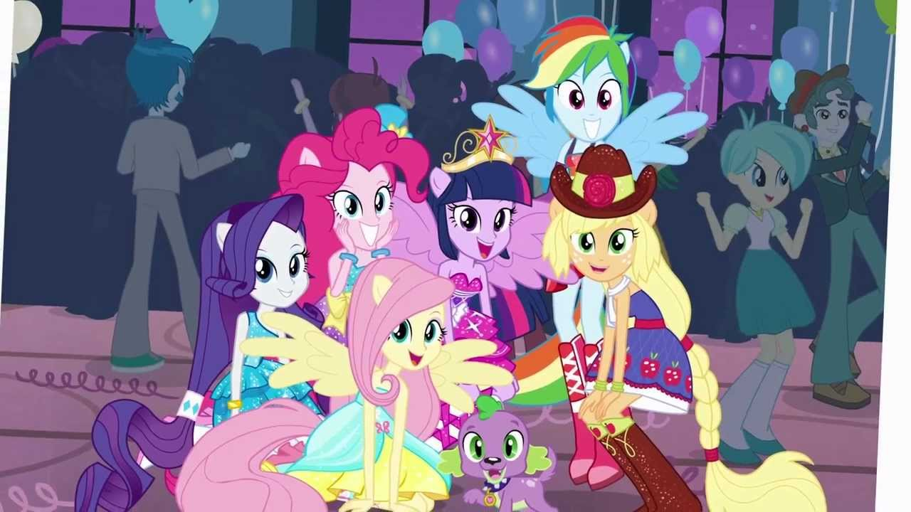 Free Download My Little Pony Equestria Girls This Is Our Big Night