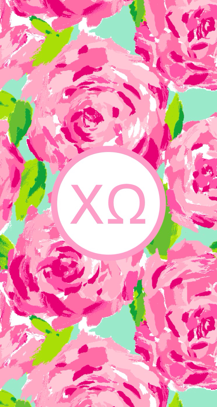 chi omega iPhone wallpaper Pinterest 744x1392