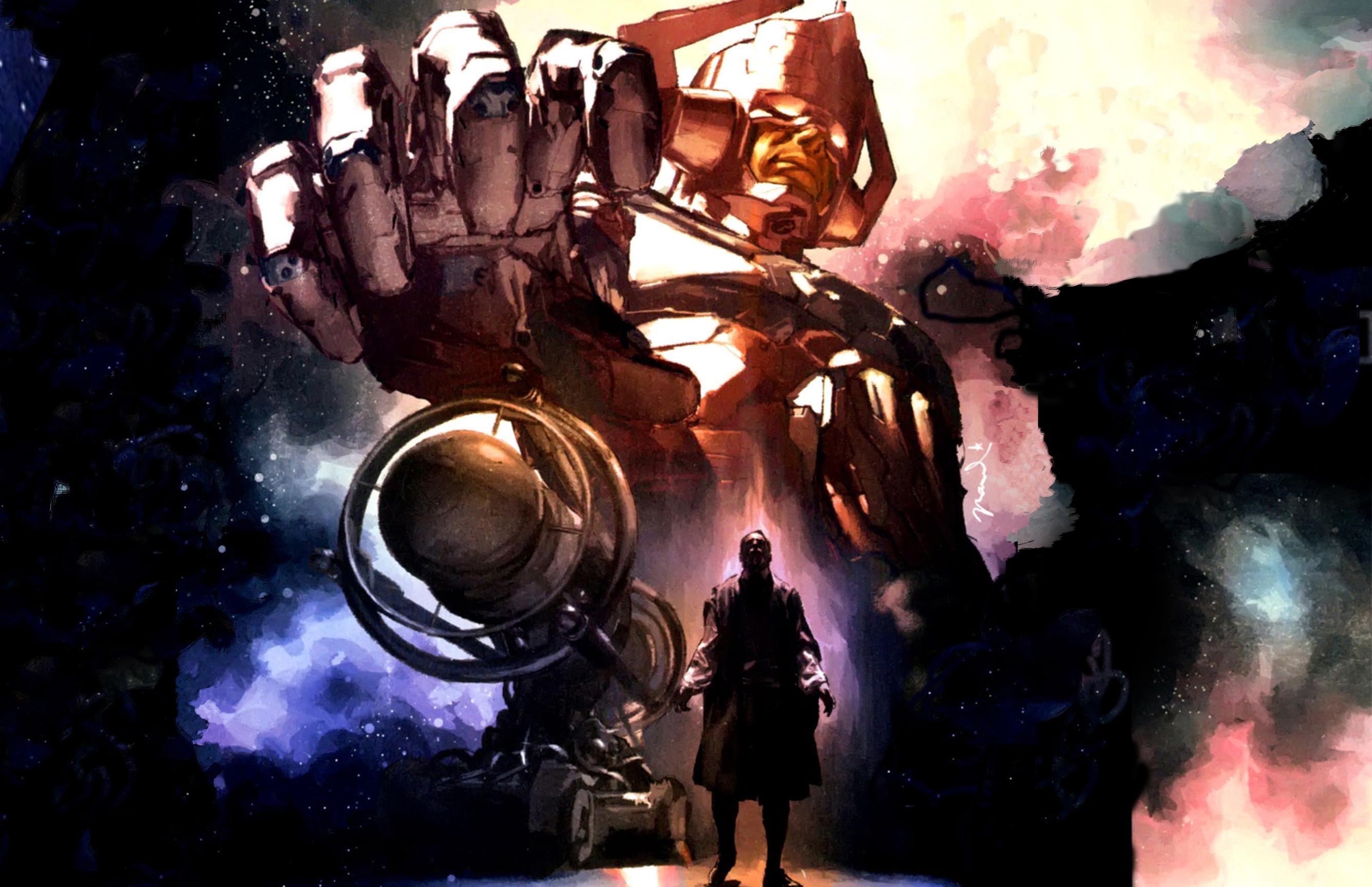 marvel comics galactus HD Wallpaper   Cartoon Animation 859877 2672x1729
