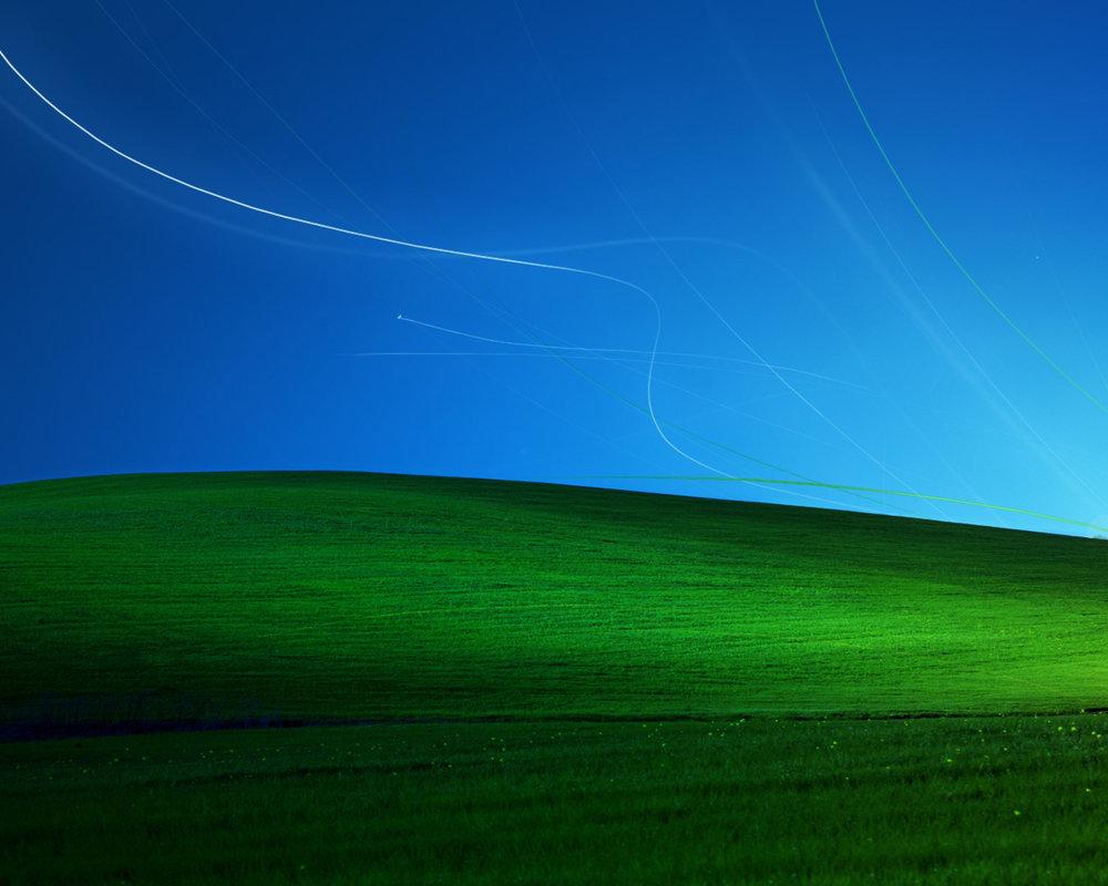 Windows Xp Bliss 1280x1024 Dark by analo86 1000x800