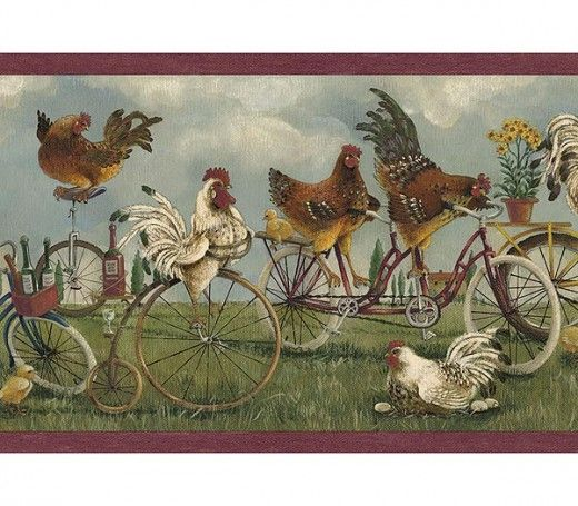 french country wallpaper images of rooster wallpaper border online 520x455