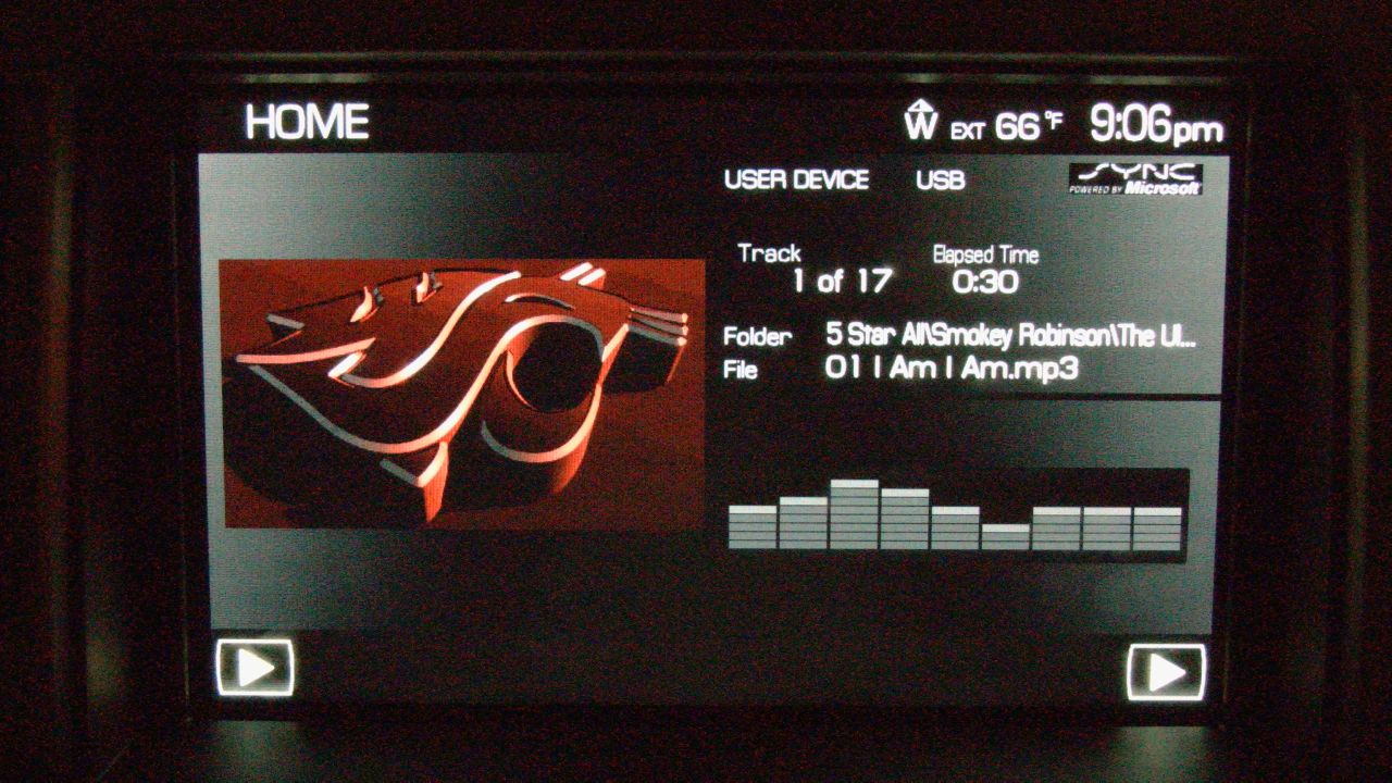 Ford Sync Custom Images Microsoft Lincoln Mercury WSU Logo 1280x720