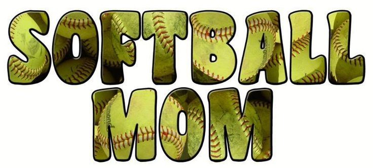 Fastpitch Softball Quotes And Sayings SOFTBALL MOM Graphics 736x331