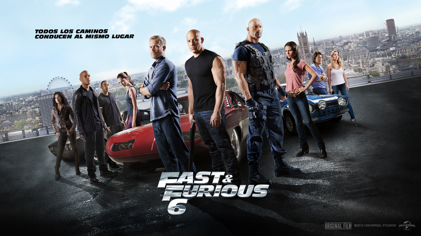 Fast Furious 6   1366x768   Wallpaper 553 on WallpaperMade 1366x768