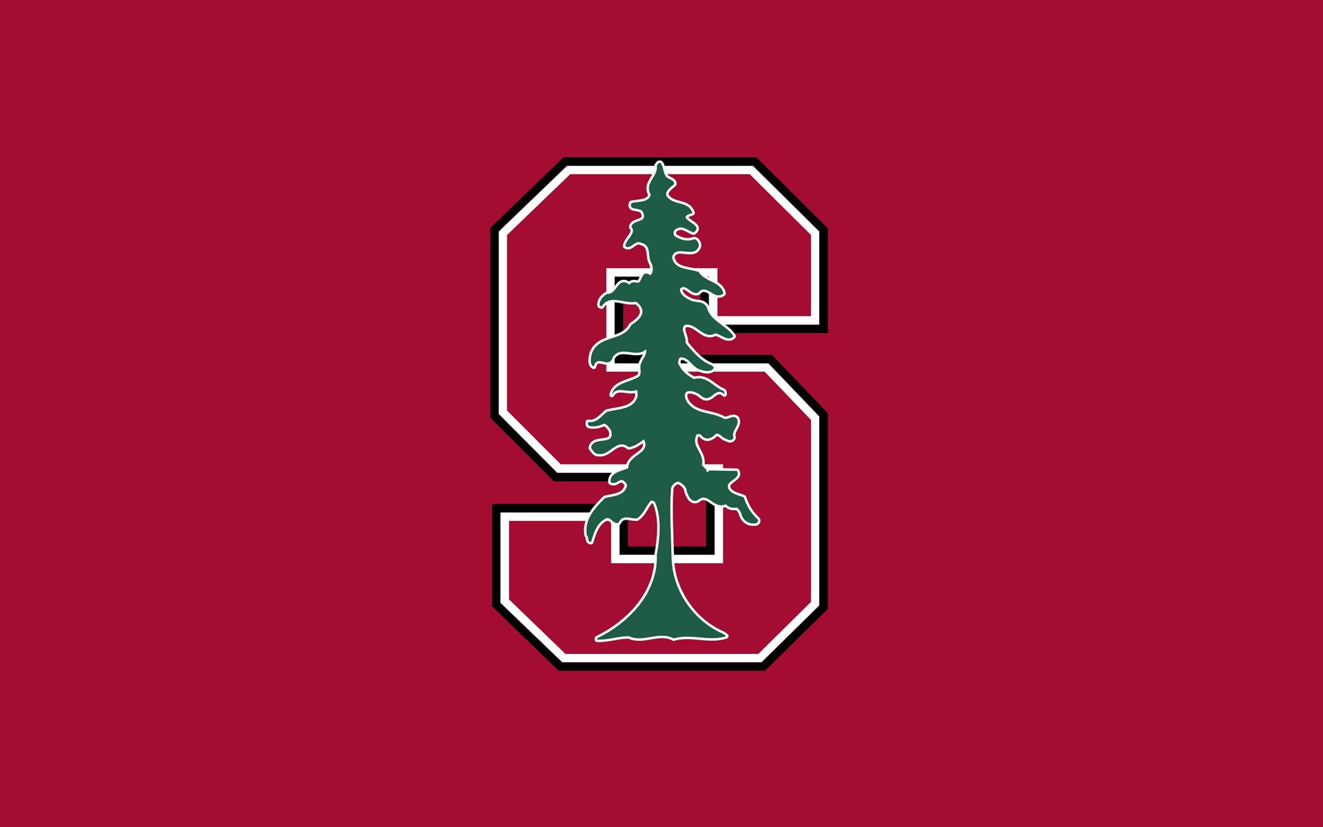 Stanford University Tree Logo Red wallpaper background 1920x1200