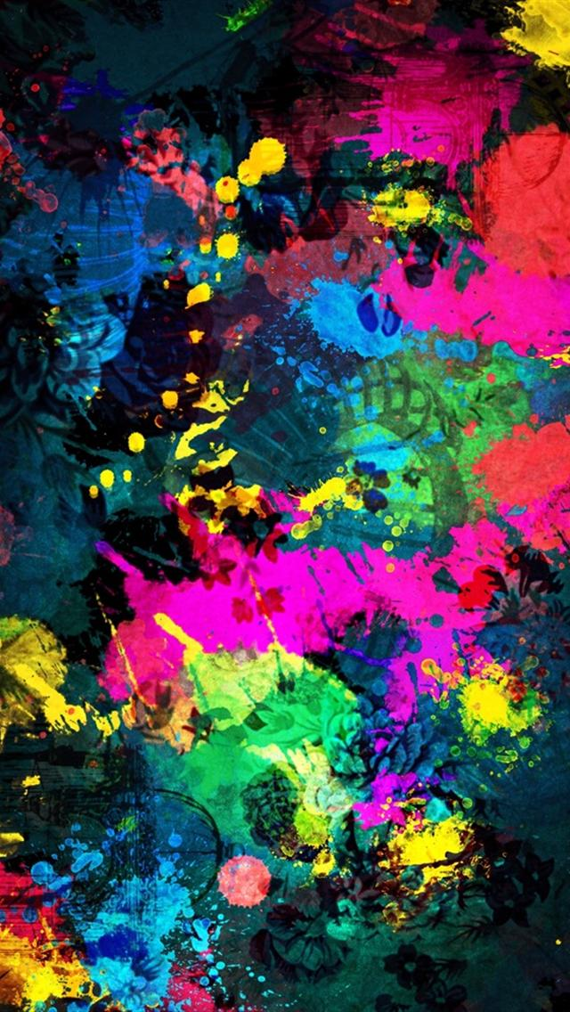 Paint Background iPhone 5 Wallpapers Hd 640x1136 Iphone 5 Backgrounds 640x1136