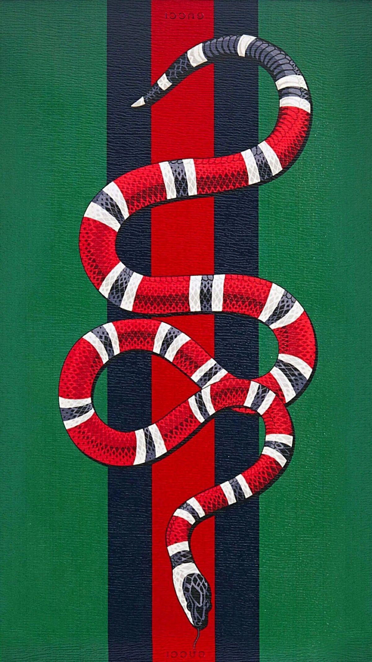 Supreme Gucci Snake Wallpapers   Top Supreme Gucci Snake 1200x2133