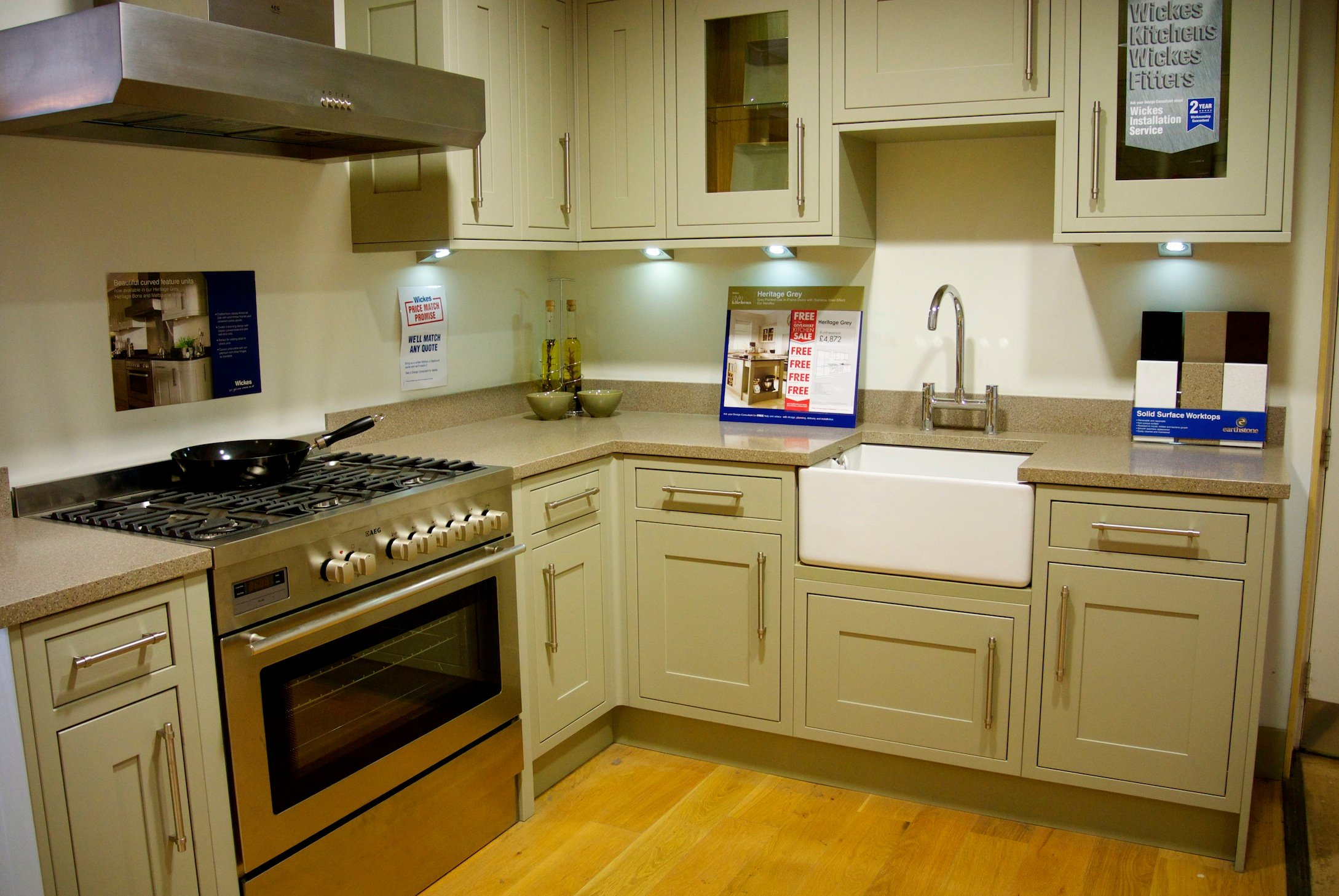 Wickes Kitchen Furniture Heritage Grey Kitchen Winda 7 Furniture