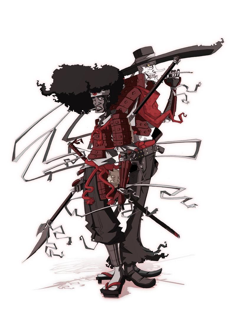 Afro Samurai Justice Wallpaper Afro Samurai Justice Afro 800x1131