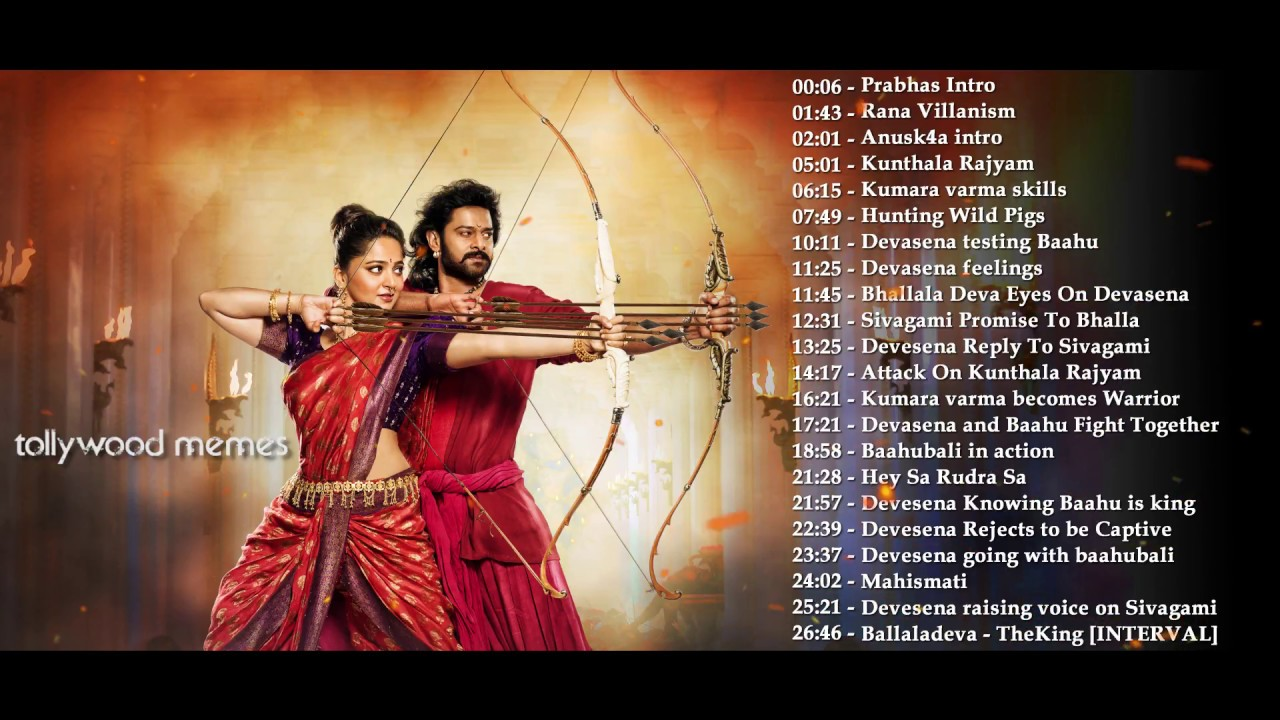 Baahubali 2 The conclusion Original Background Musics PART 1 1280x720