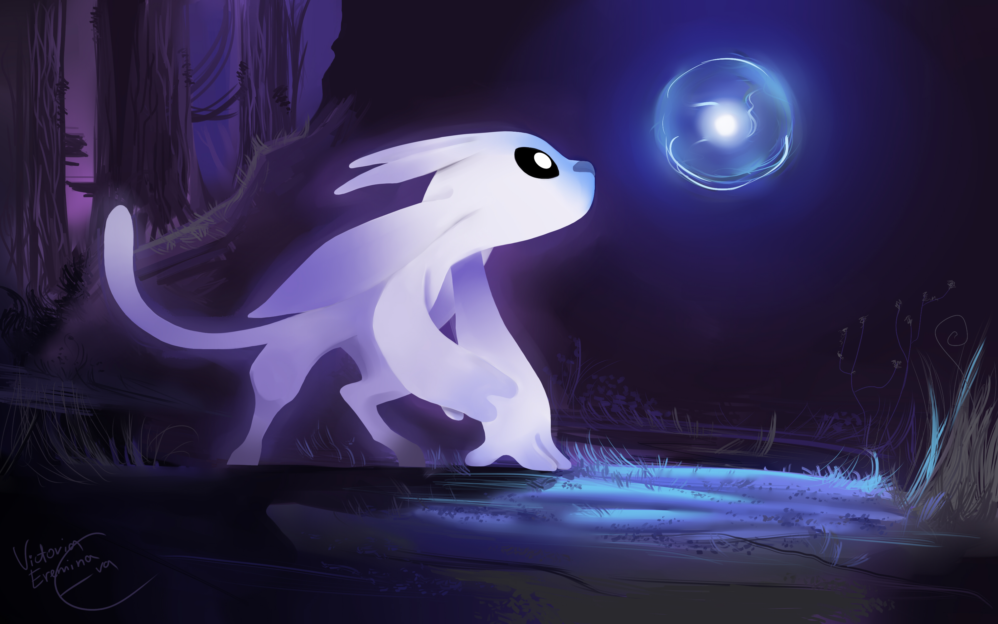 Ori and The Blind Forest - Ori and Sein by SP-hera on ...