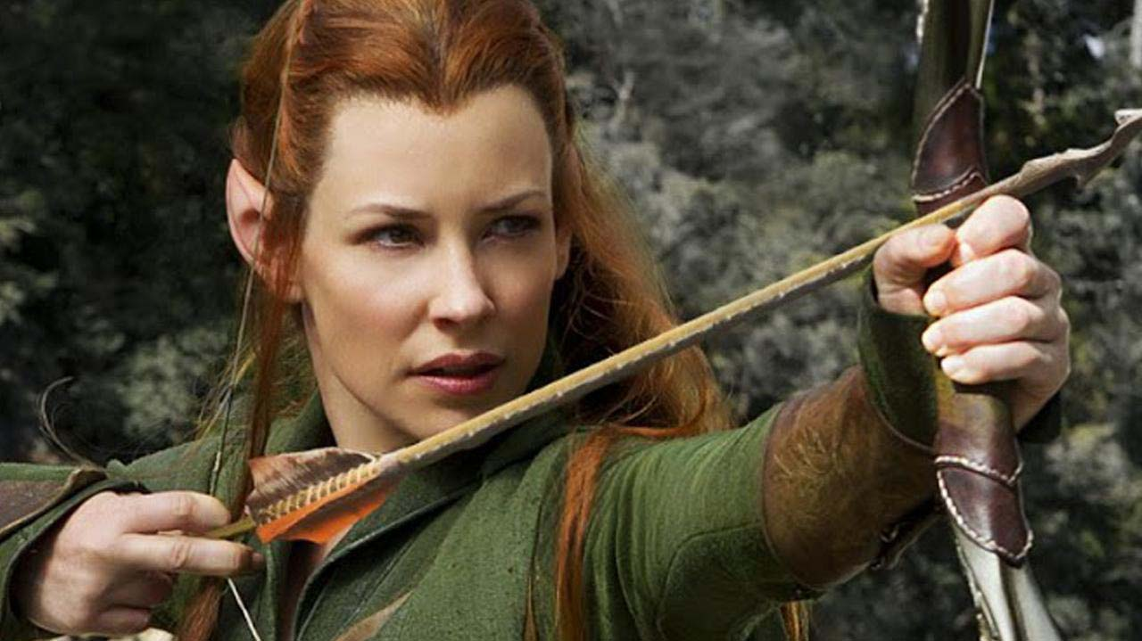 The Hobbit   Evangeline Lilly on Tauriel in Battle of Five Armies 1280x719