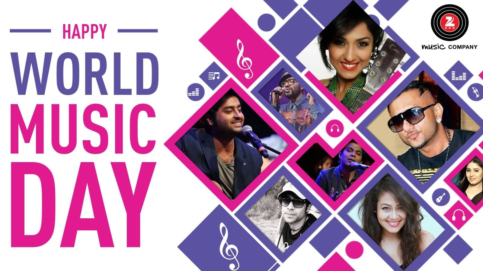 42 Incredible Pictures Of World Music Day Greetings 1600x900