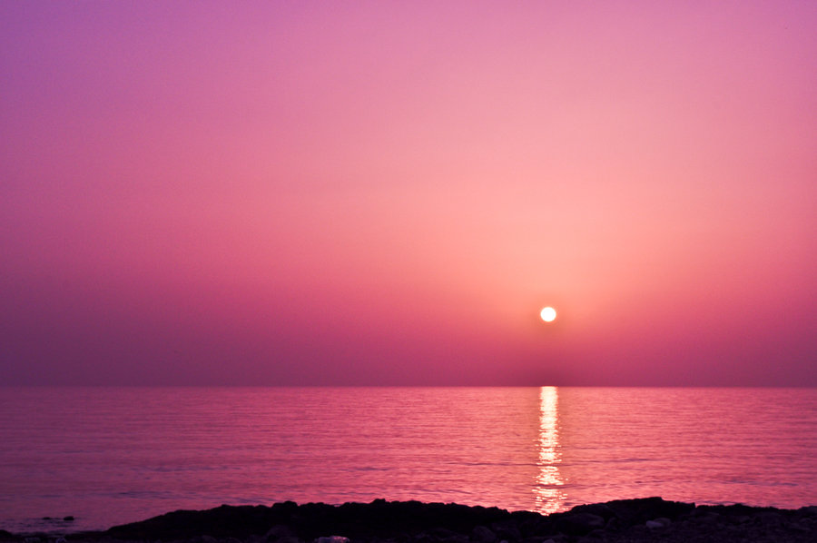 Pink Sunset by pure feelings 900x598