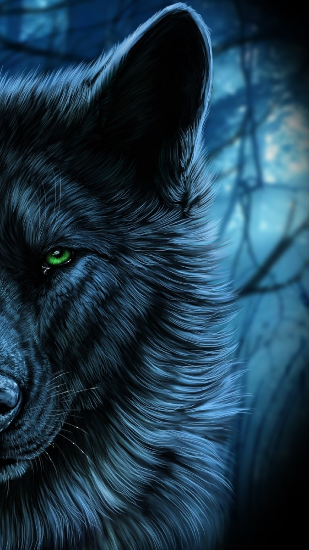 Wolf Wallpaper for iPhone 72 images 1080x1920