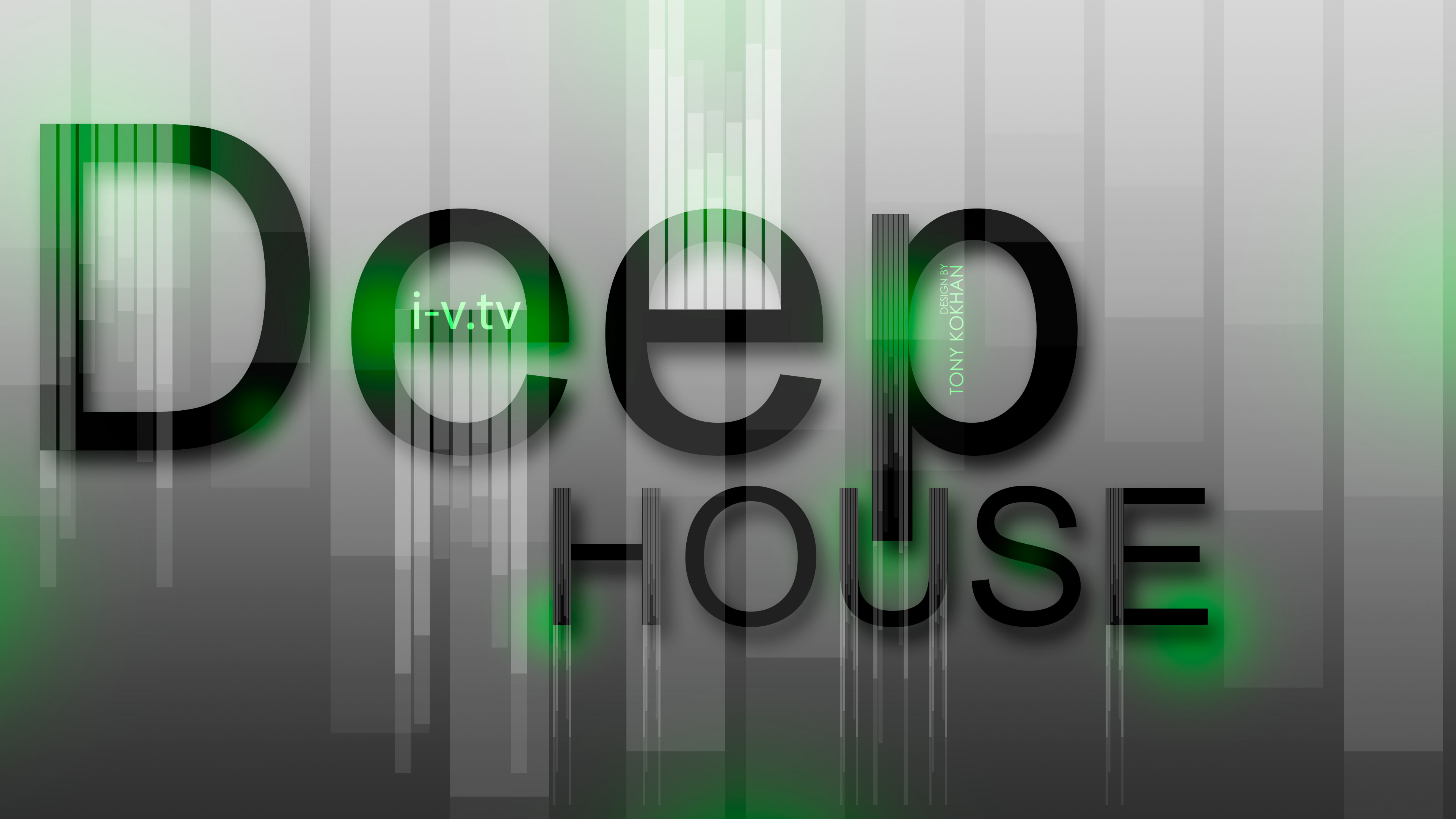Deep House Music eQ Style 2015 Creative Sound Wallpapers 3840x2160
