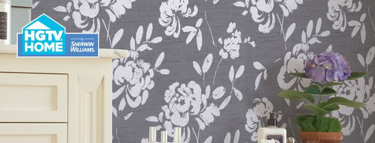 HGTV HOME by Sherwin Williams Liveable Luxe Wallpaper Collection 736x280