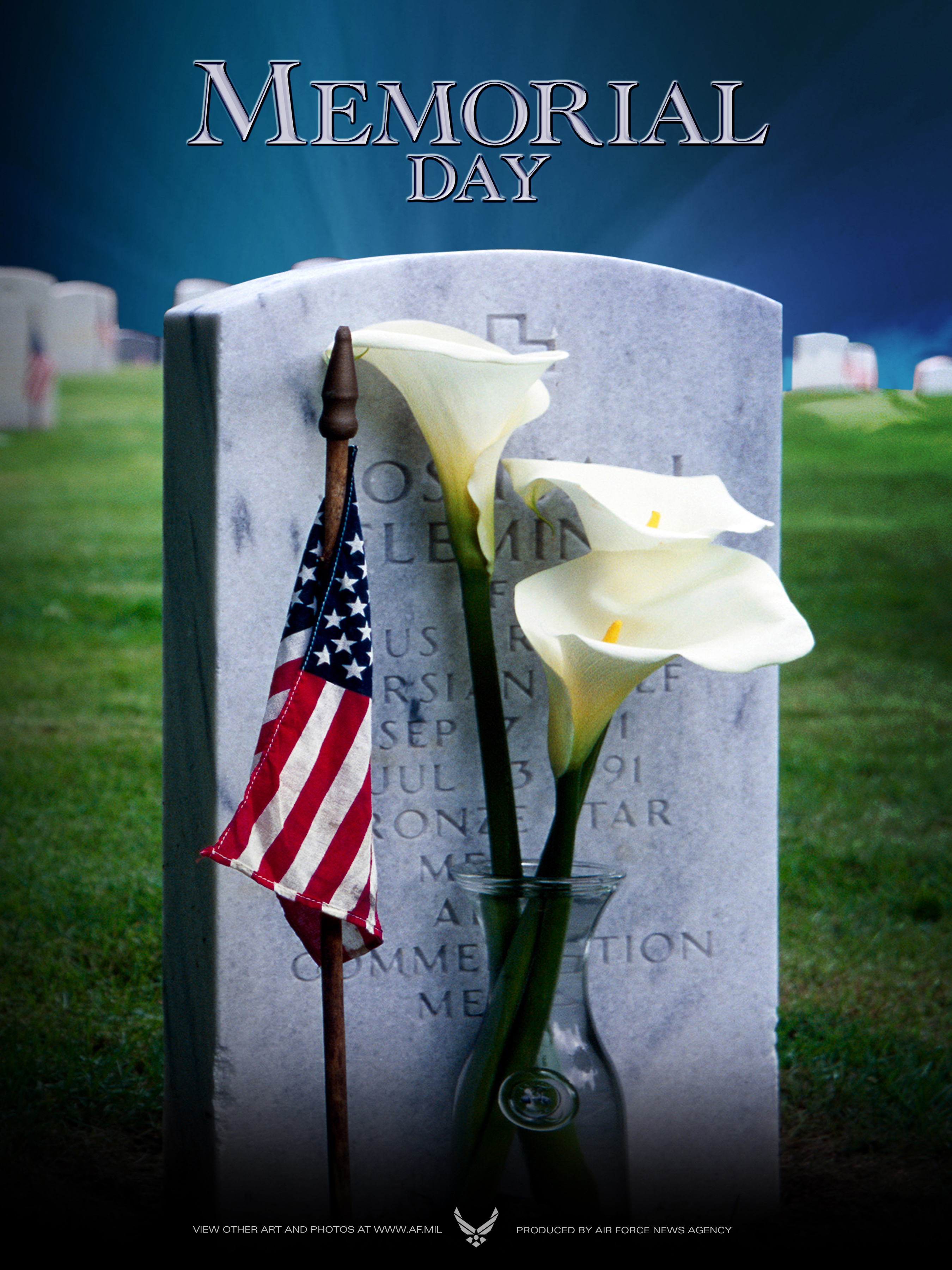 Memorial Day posters available for download US Air Force 2700x3600