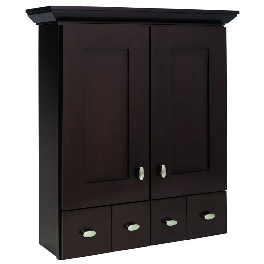 in H x 906 in D Espresso Birch Bathroom Wall Cabinet Lowes Canada 900x900