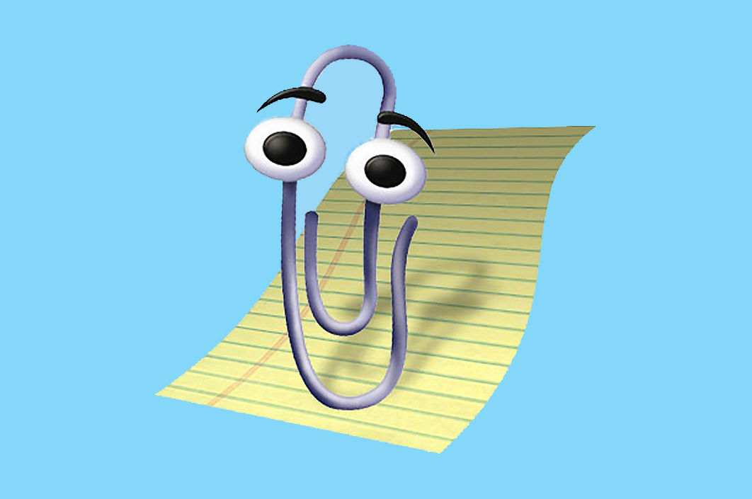 Corpse of Microsofts Clippy Still Offers Valuable Lessons 1062x705