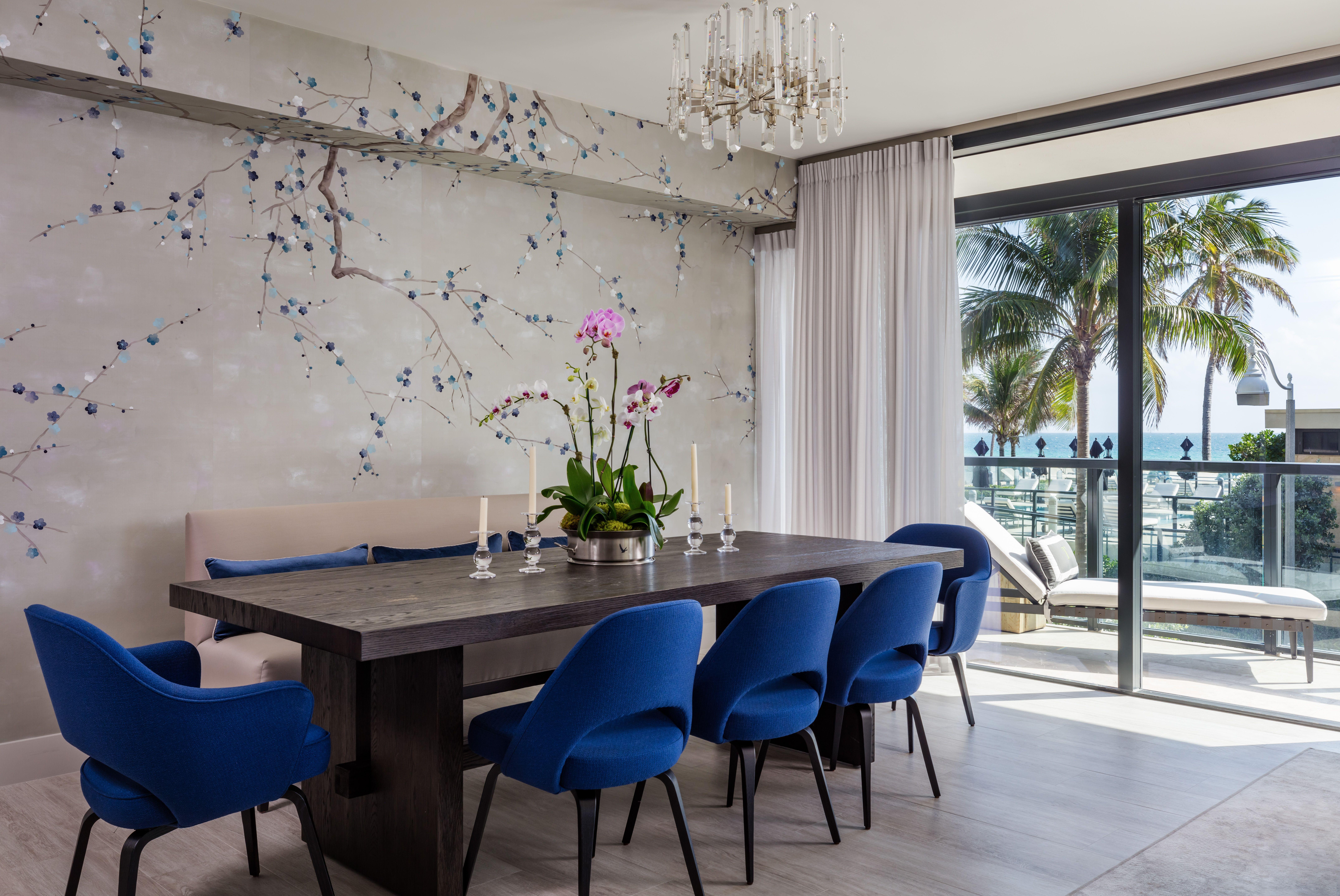 A boutique condo building in Hollywood FL DeGournay plum blossom 8605x5755