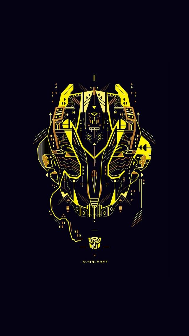 Transformers Bumblebee iPhone 5 Wallpaper 640x1136 640x1136