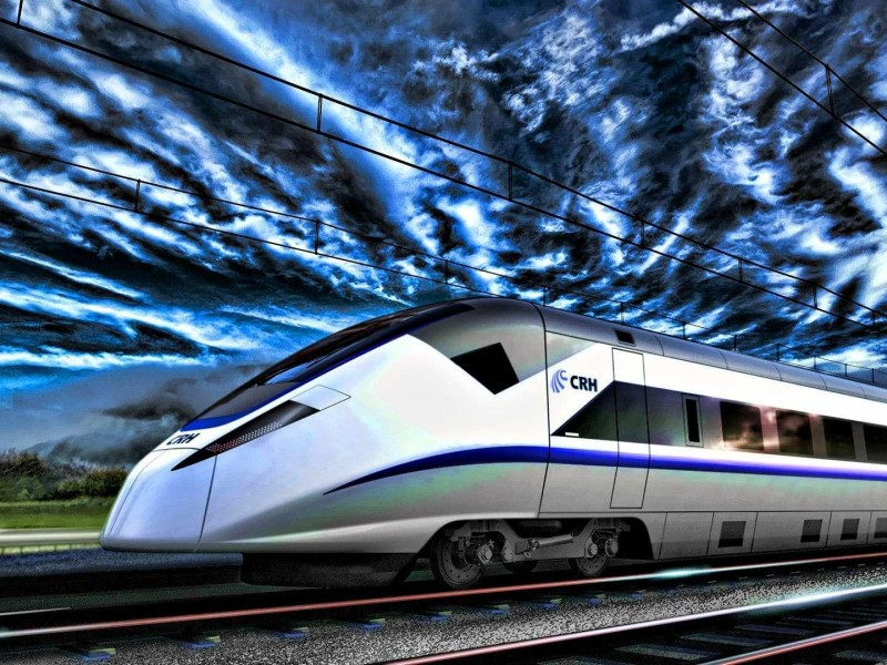 High Speed Train Hdr HD desktop wallpaper Widescreen 800x600