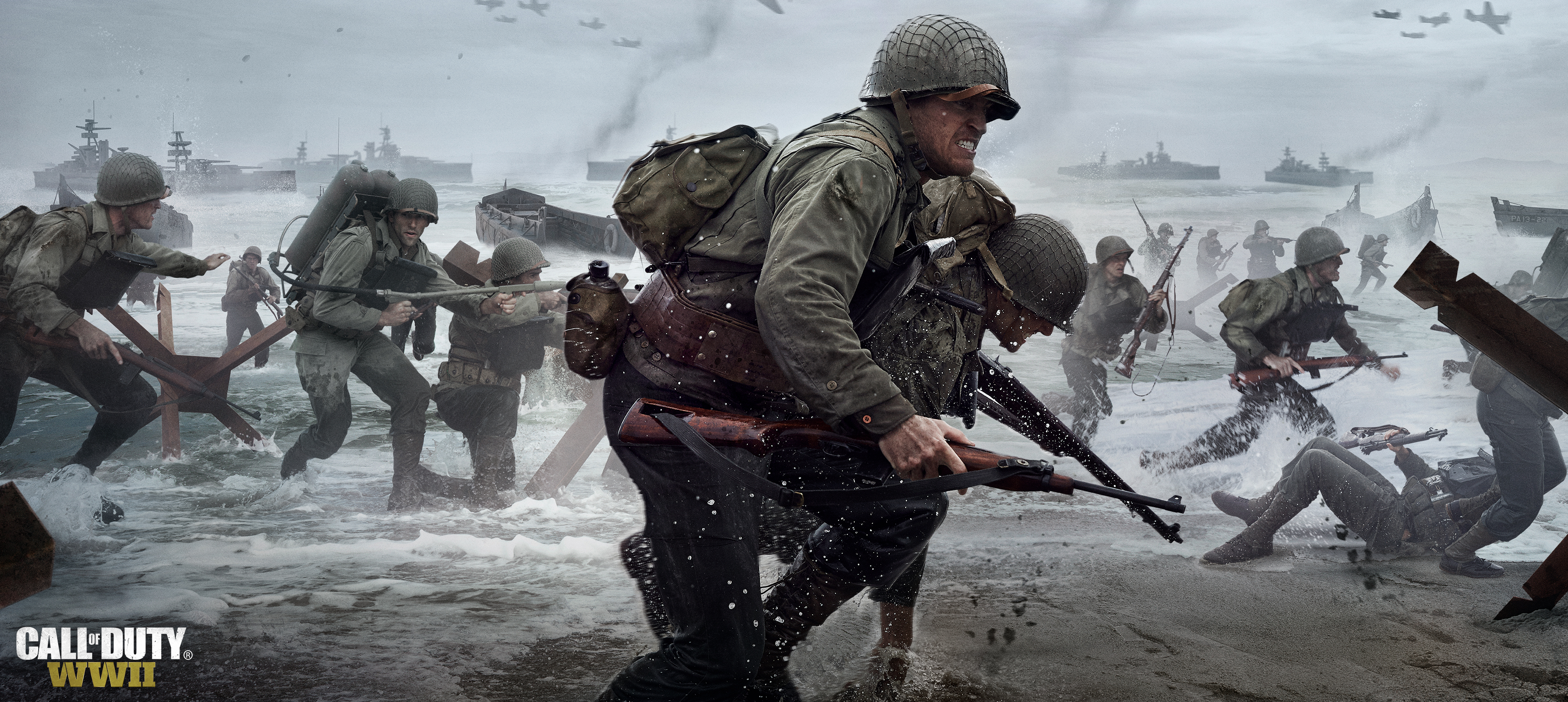 Four new Call of Duty WWII trailers introduce the squad PC Gamer 3452x1546