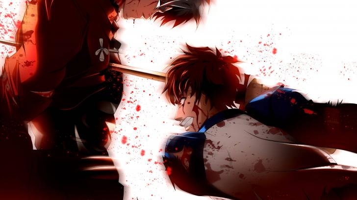 konachan com archer blood emiya shirou fate stay night sword 728x408