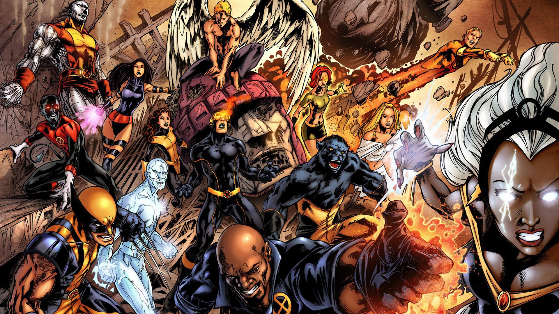 Men Marvel Wallpaper 1920x1080 XMen Marvel Comics 1920x1080